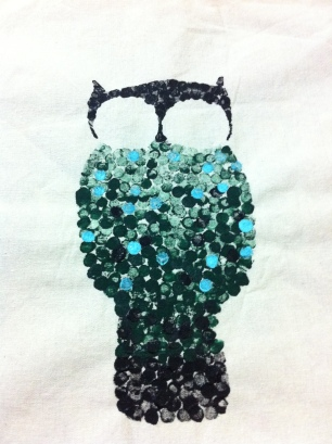 DIY 貓頭鷹環保袋 Owl Tote Bag