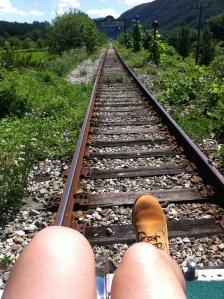 2014  暑假 首爾 summer in seoul Gyeonggi Yangpyeong rail bike 京畿道 楊平 鐵路單車