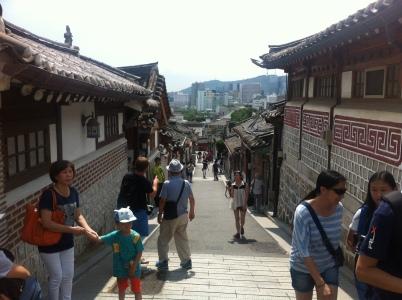2014  暑假 首爾 summer in seoul Samcheongdong Hanok 三清洞韓屋村