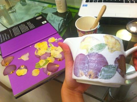媽媽 day 壓花 茶壺 mother's day pressed flower teapot 母親節 DIY 禮物