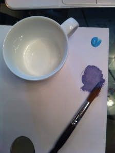 diy art paint porcelain cup design easy blog lifestyle 香港 杯 陶瓷 陶瓷杯 花紋