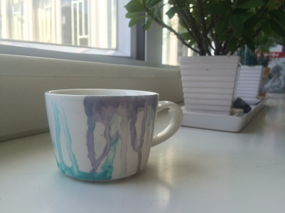 diy art paint porcelain cup design easy blog lifestyle 香港 杯 陶瓷 陶瓷杯 花紋