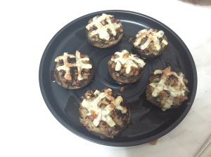 釀大蘑菇 party food Stuffed Mushrooms 蘑菇 food 小食 香港