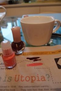 diy art nail polish porcelain cup design easy blog lifestyle 香港 杯 陶瓷 陶瓷杯 花紋 指甲油