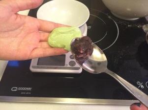 green tea mochi japanese eat 日式 綠茶 草餅 紅豆 媽媽 小吃 DIY 香港 糯米
